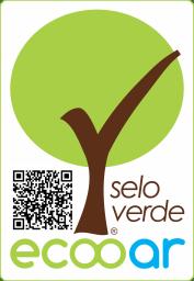 Imagem mostra Selo Verde Ecooar