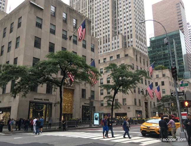 Foto mostra ruas de New York, local onde nasceu a sigla ESG