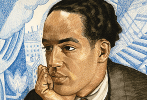 Langston Hughes illo