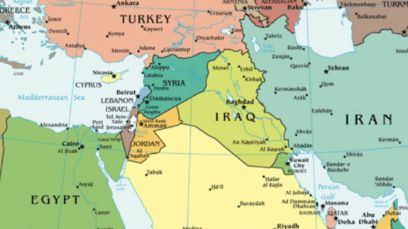 Syria What Students Need To Know - Map of syria and turkey