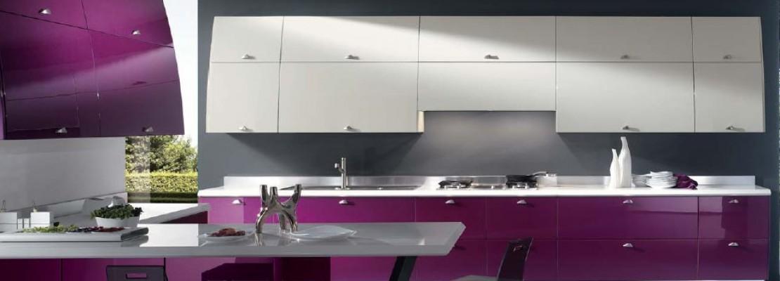 La cucina moderna lineare ed elegante   Blog Edilnet