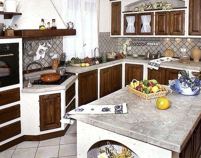 Cucine in muratura con isola   Blog Edilnet