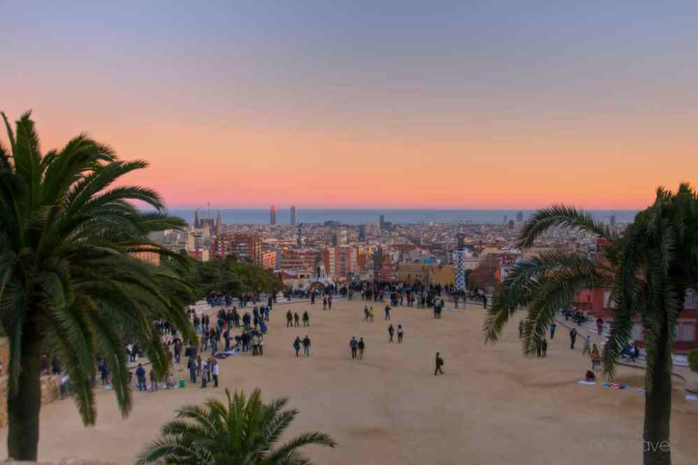 Shot of the Day-View from Parc Guell - image  on http://blog.edinchavez.com