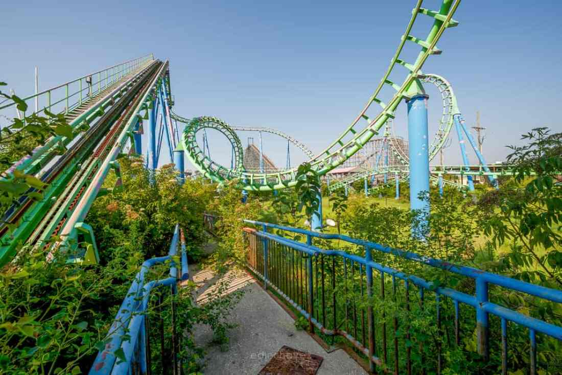 Abandoned Six Flags New Orleans-113