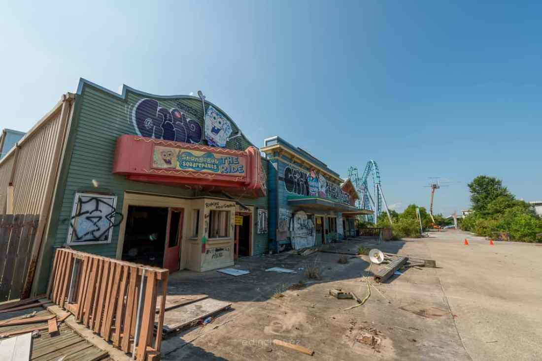 Abandoned Six Flags New Orleans-37