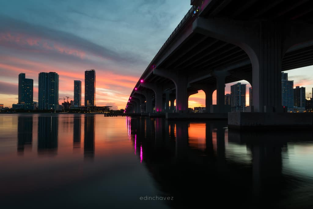 Miami Sunset How to Shoot it and How to Edit it - image  on https://blog.edinchavez.com