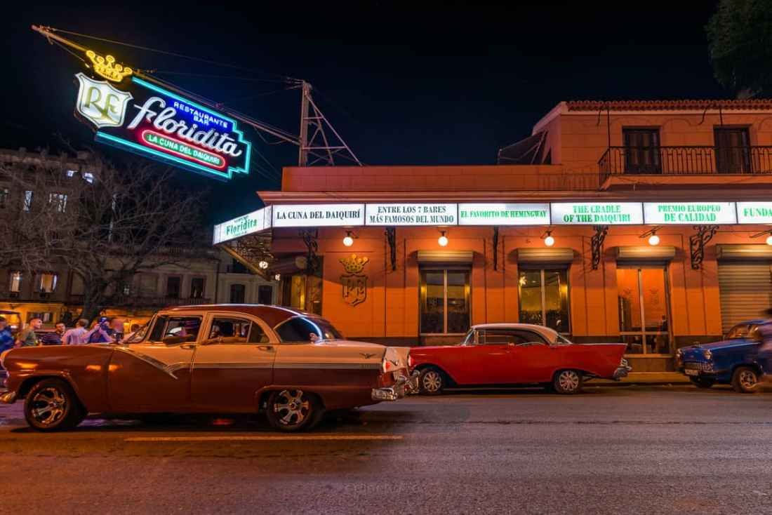 La Floridita Top 10 places to photograph in Cuba Hemingways Bar