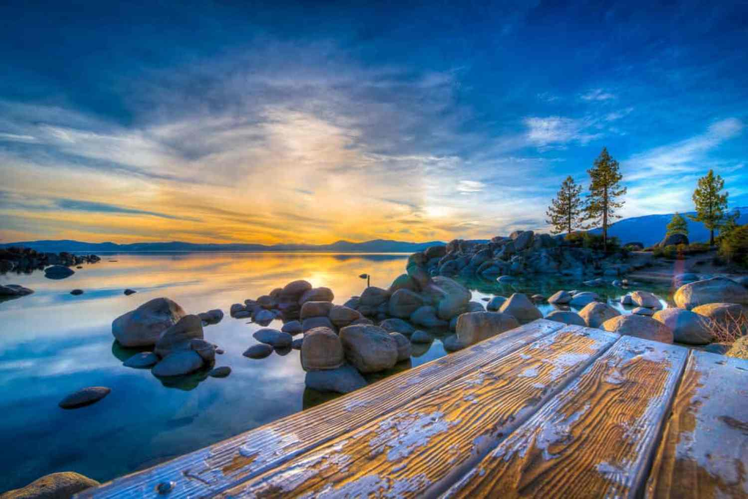 Best places to photograph in lake tahoe