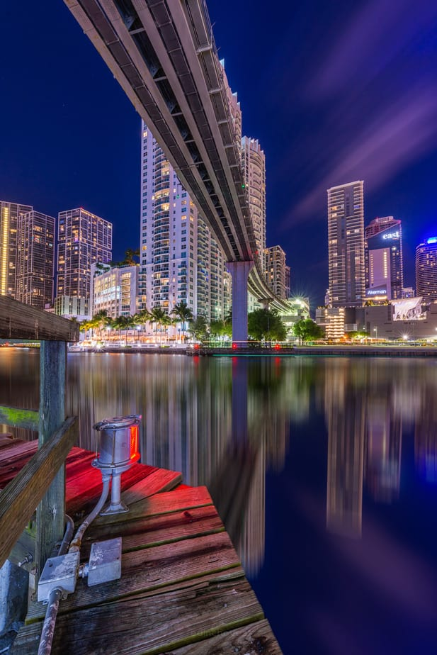 Miami River at night best photography spots Miami