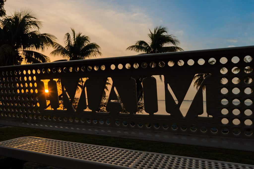 best photography spots Miami sunrise
