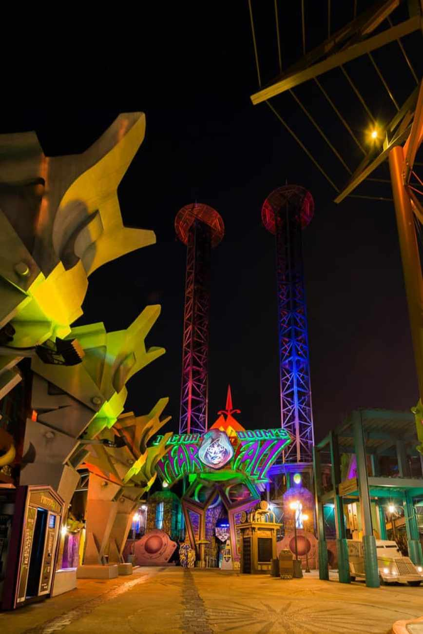 Best Photography Spots In Orlando Universal Dr dooms fear fall