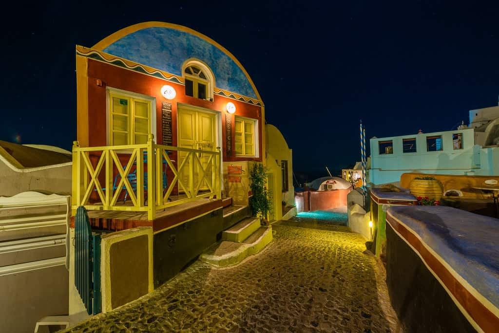 La Oia Greece at Night Best Photography Spots