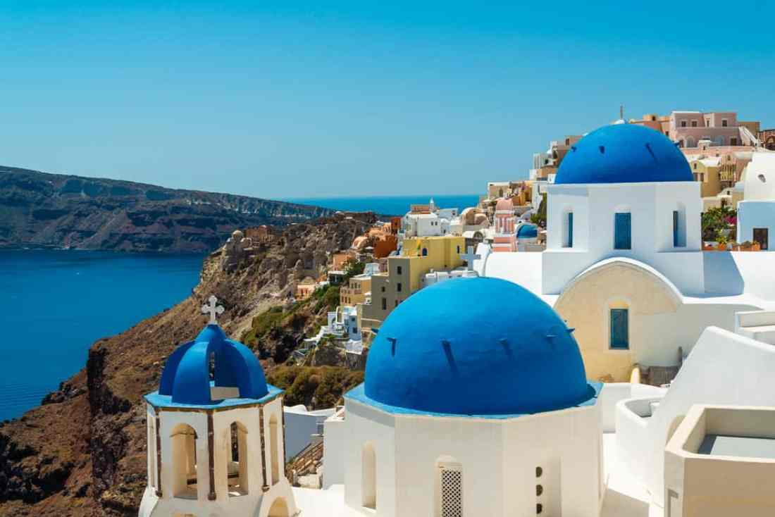 Blue Domes In Santorini Best Places to Photograph