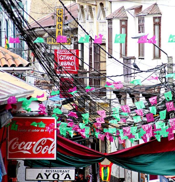 Rua de La Paz, Bolívia
