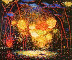 """""""The Rocket,"""" by Edward Middleton Manigault (1909), courtesy Columbus Museum of Art"""