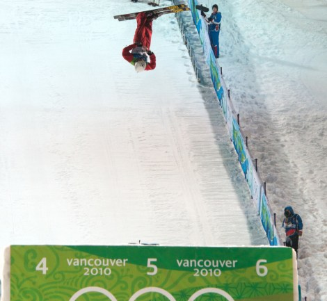 """Extreme"" sports, such as freestyle skiing (above) and snowboarding, demand endurance and flexibility, as well as excellent body composition. Photograph by Duncan Rawlinson, courtesy Wikimedia. This file is licensed under the Creative Commons Attribution 2.0 Generic license."