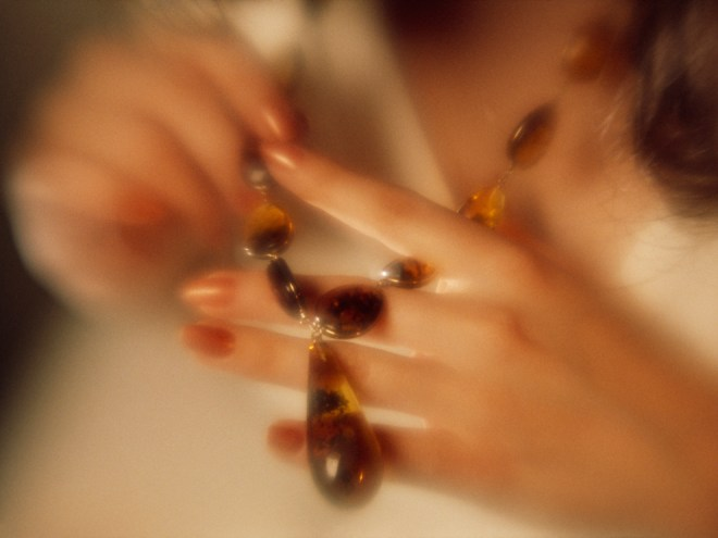 Most amber is used in jewelry, but it is also an ingredient in some traditional medicines and sometimes burned for its evergreen fragrance. Photograph by Bruce Dale, National Geographic