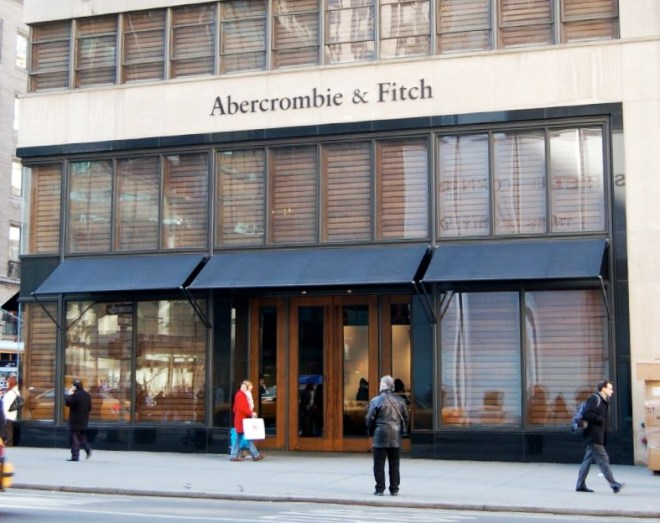 "Abercrombie & Fitch promotes ""a classic East Coast collegiate style of clothing."" Photograph by Rob Young, courtesy Wikimedia. CC-BY-2.0"