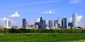 Based on career demographics, the Trump version of Washington, D.C., is Dallas, Texas. Photographs by Ad Meskens (Washington, D.C.) and drumguy8800 (Dallas), courtesy Wikimedia. CC-BY-SA-3.0