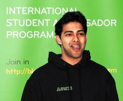 DCU Ambassador Naheed Zaman