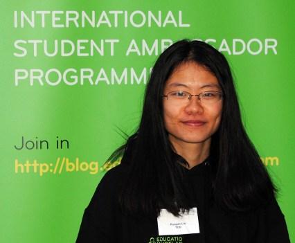 TCD Ambassador Panpan Lin