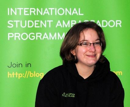 UCD Ambassador Keytelynne Radde