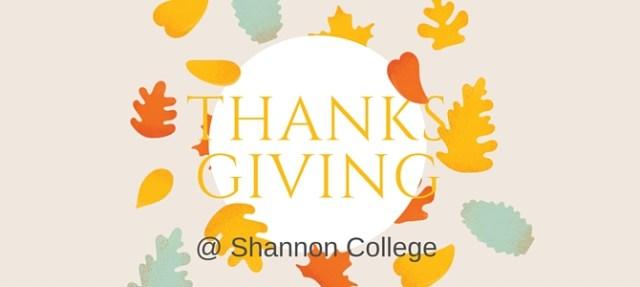 Thankful for an Irish Thanksgiving