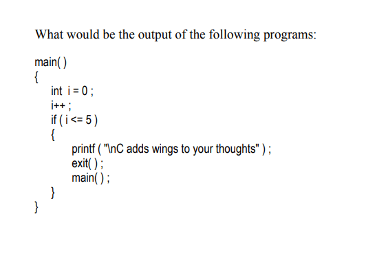 c program example function and pointer