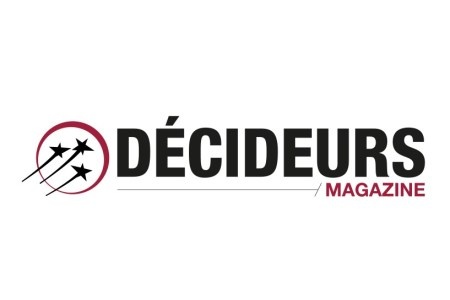 Logo Decideurs magazine