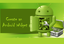 create an android widget