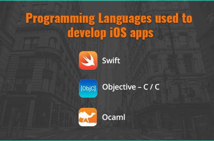 Programming Languages Used in iOS app