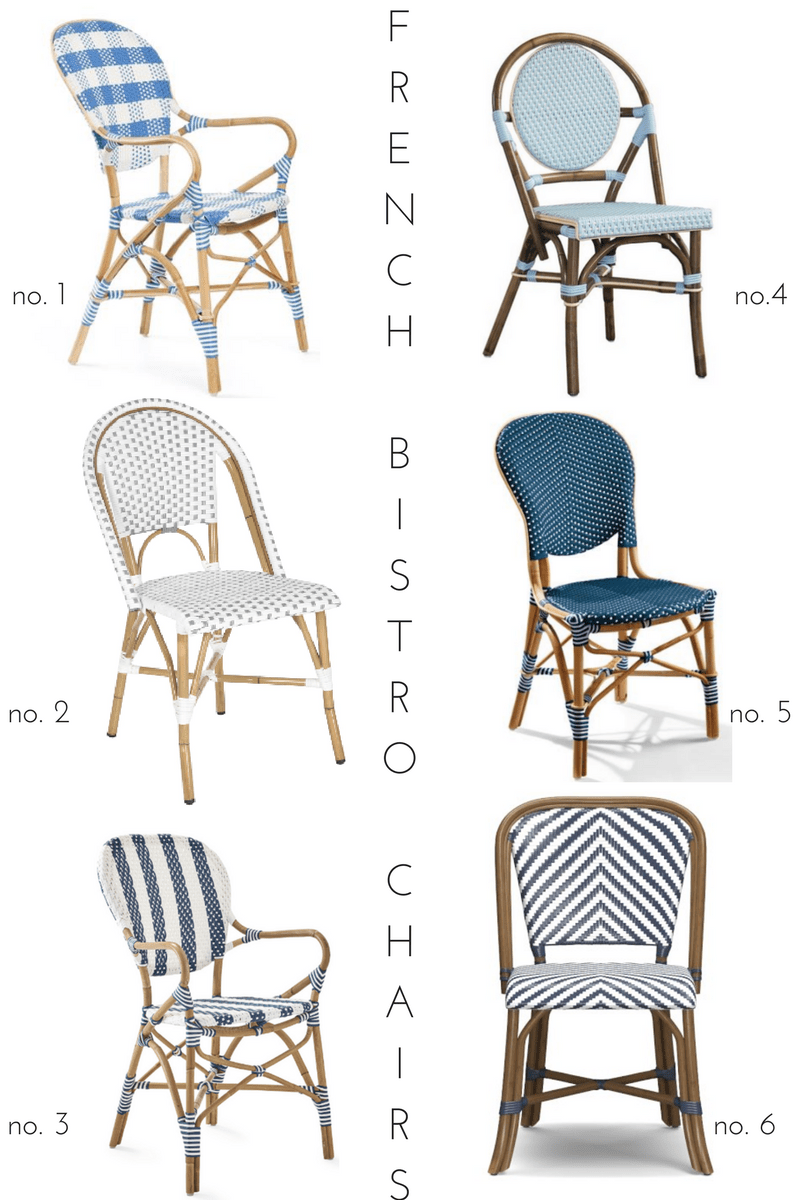 Outdoor French Bistro Chairs French Bistro Chair Round Up Effortless Style Blog
