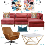 Style Plan Eclectic Glam Living Room Showit Blog