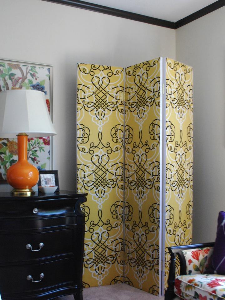 DIY Multifunctional Room Divider  Effortless Style Blog