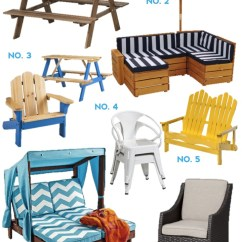 Kids Outdoor Chair Retro Kitchen Table And Chairs Set Furniture Effortless Style Blog