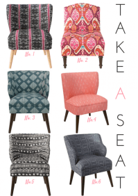 Boho Style Chair Round Up - Effortless Style Blog