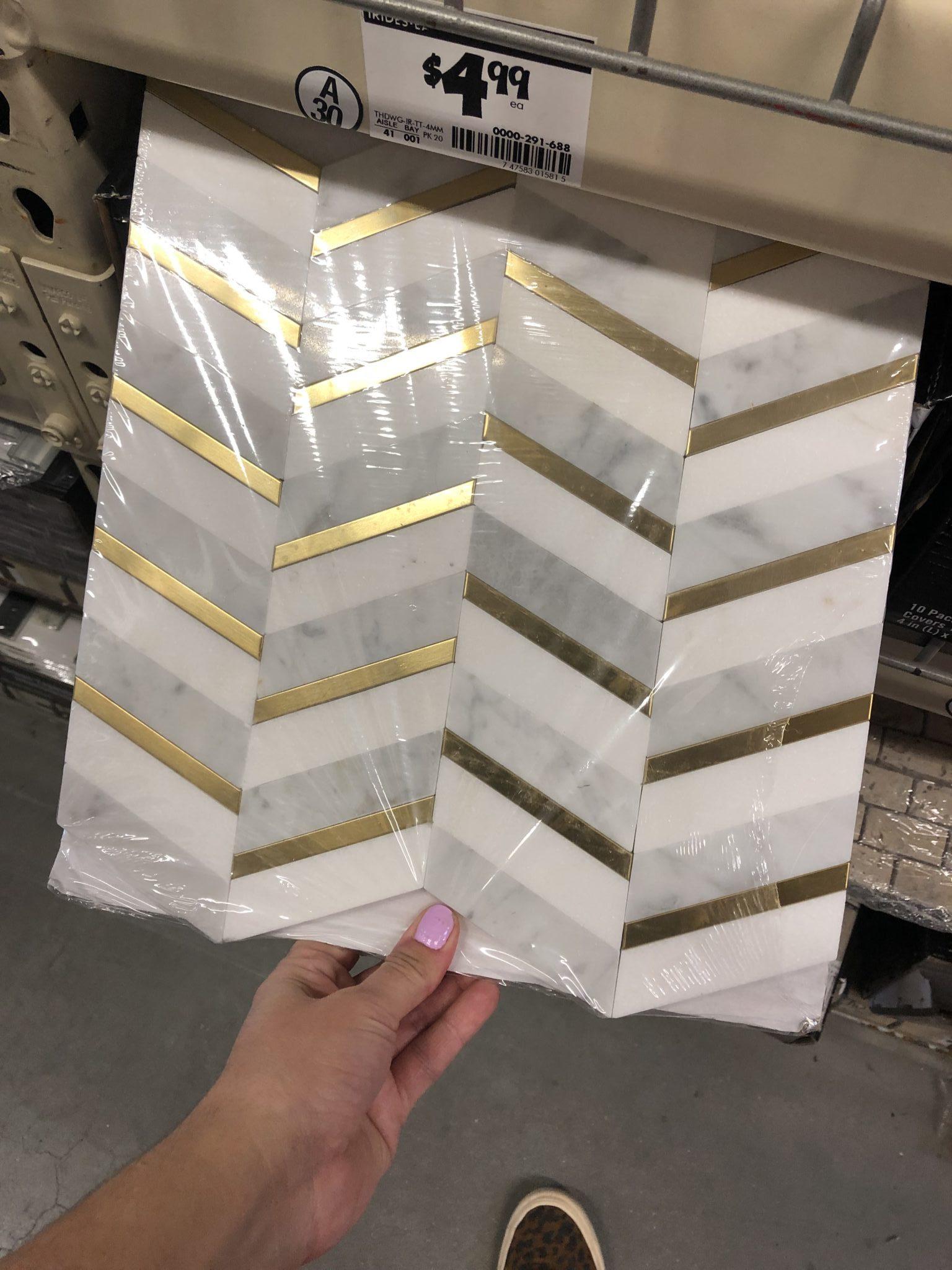 brass inlay tile home depot showit blog