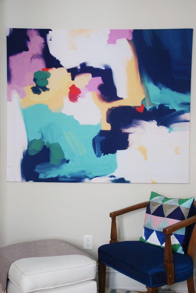 shower curtain as artwork showit blog