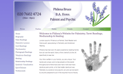London Psychic, Tarot Reader and Clairvoyant, specialising in Palmistry and Emotional Healing