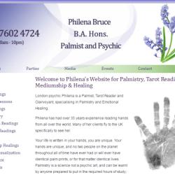 Palmistry, Tarot Readings, Mediumship & Healing - Philena Bruce
