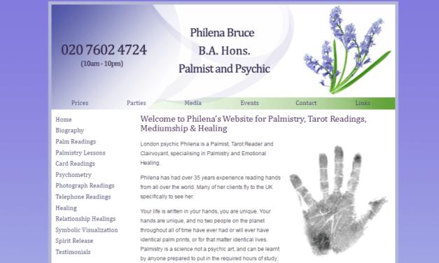 Palmistry, Tarot Readings, Mediumship & Healing – Philena Bruce
