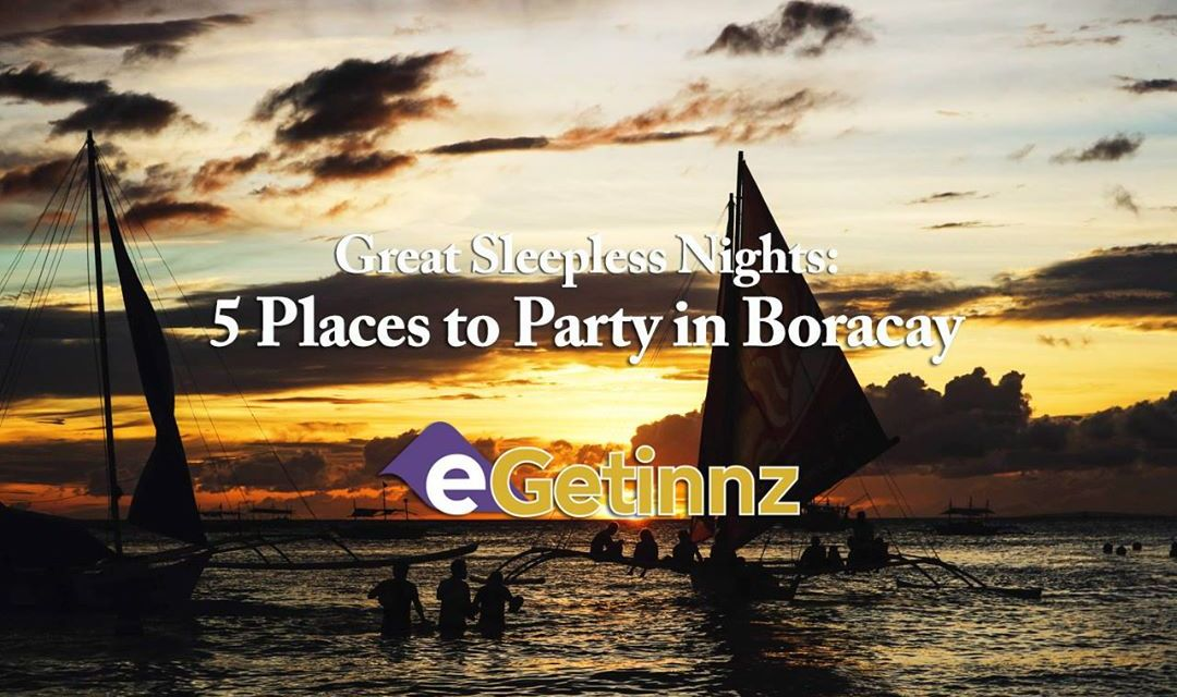 Great Sleepless Nights: 5 Places to Party in Boracay