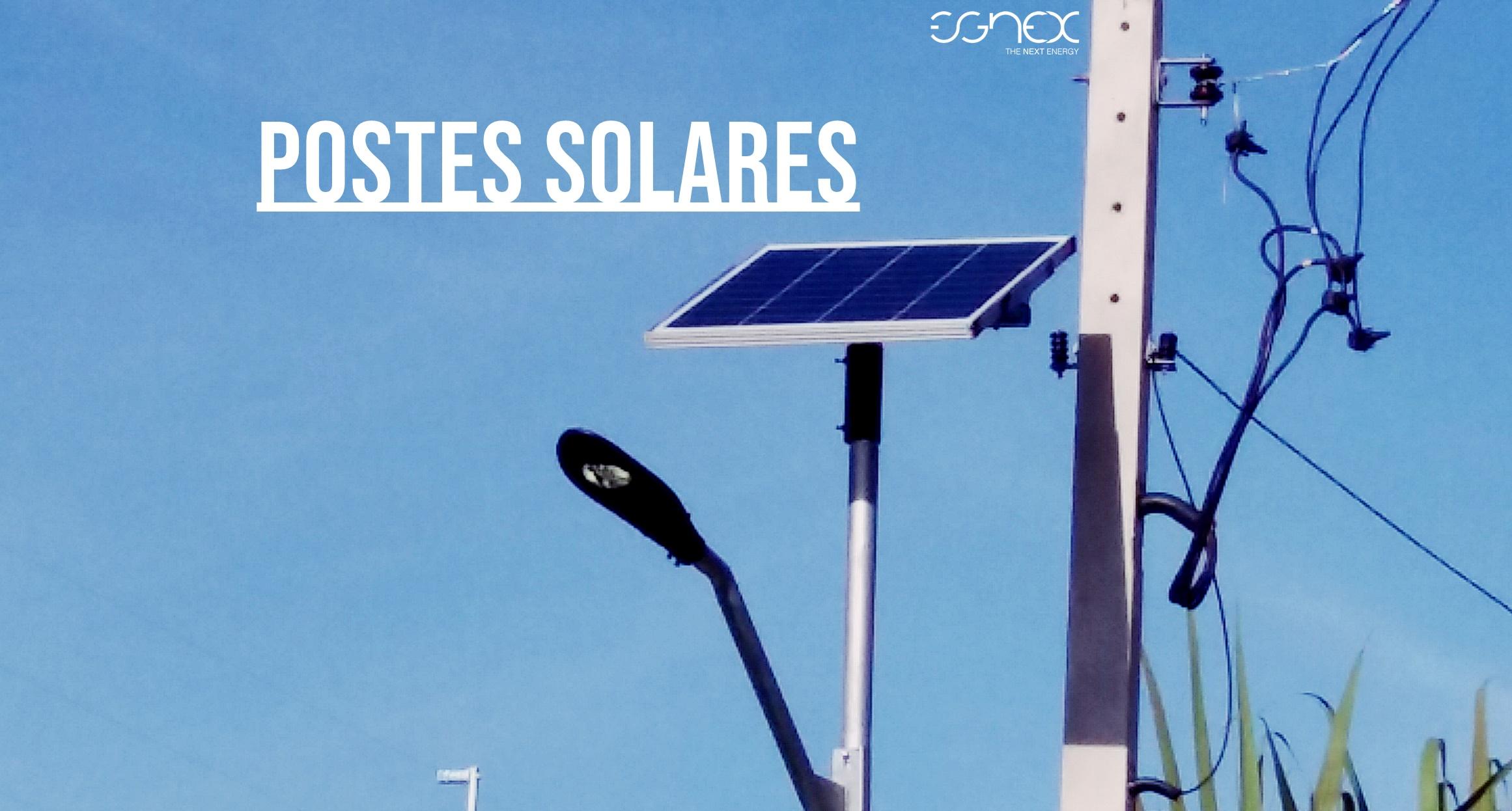 A Eficiência dos postes solares   Blog Egnex