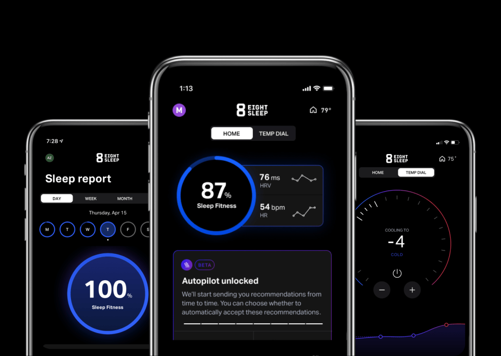 Eight Sleep Pod SleepOS App