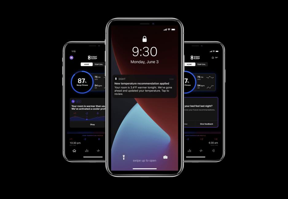 Eight Sleep App Smart Temp Autopilot