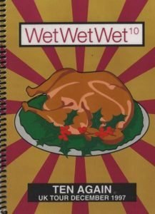 Wet Wet Wet Tour Itinerary