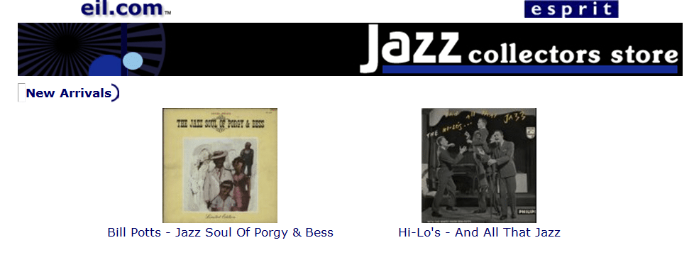 the eil.com Jazz Collectors Store