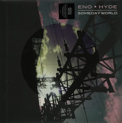 Great collaboration between Eno and Underworld's Karl Hyde, includes exclusive art print