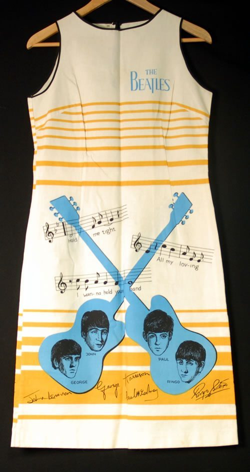 The-Beatles-Dress---Beige-Str-398974