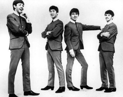 """The Beatles, Paul McCartney, John Lennon, George Harrison, Ringo Starr released """"Love Me Do"""", their first single, October 5, 1962. (Bettman)"""